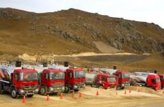 Camiones Centro Minero